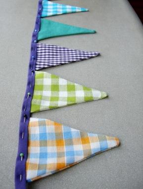 5. háromszögek rögzítése a pánton