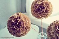 Szépséges virágok szintén papírfilterből (One Young Love)