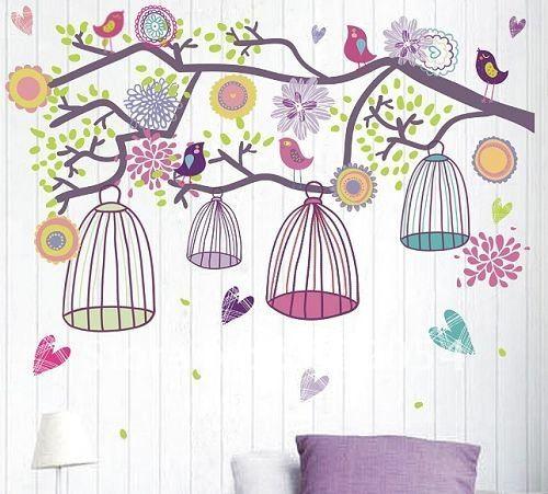 lányos színek szép madárkákkal
