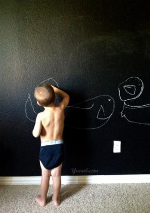 az ifjú krétarajz-művészek álma