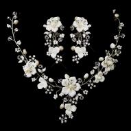 trópusi virágok gyönggyel