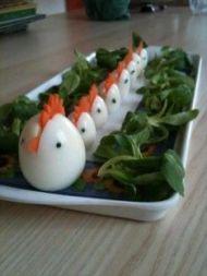 tojás kakaskák