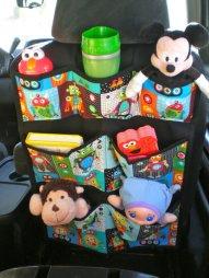 vidám autós tároló kisebb játékoknak