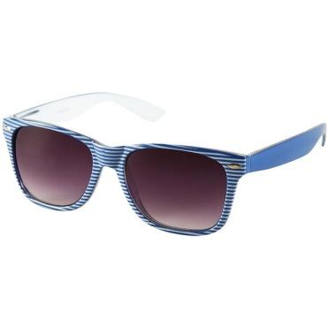 kék-fehér napszemüveg