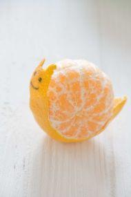 mandarin csiga