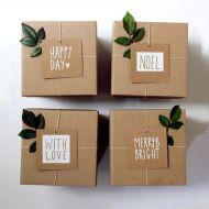 egyen csomagok apró levelekkel