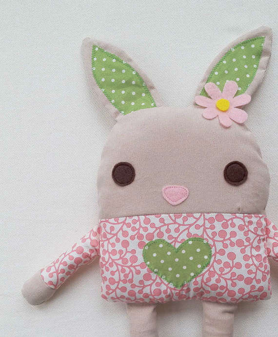 textil nyuszi kiscsajoknak